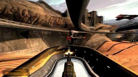 Quake 4 Mission 24 (Tram Rail)