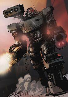 Quake 2 tank by helios437-d8qwtdn