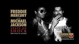 Freddie Mercury & Michael Jackson - State Of Shock (Edit Version - 2014 Hernán Snow Remaster)