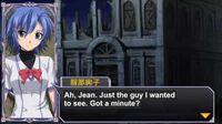 Queen's Gate Spiral Chaos Freetalks Translation Junko Hattori (2 of 2) ( kiss scene)