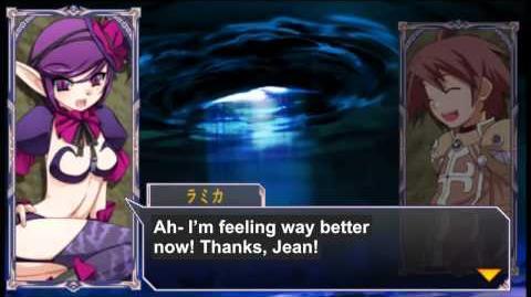 Queen's Gate Spiral Chaos Freetalks Translation Lamica (2 of 2) ( kiss scene)