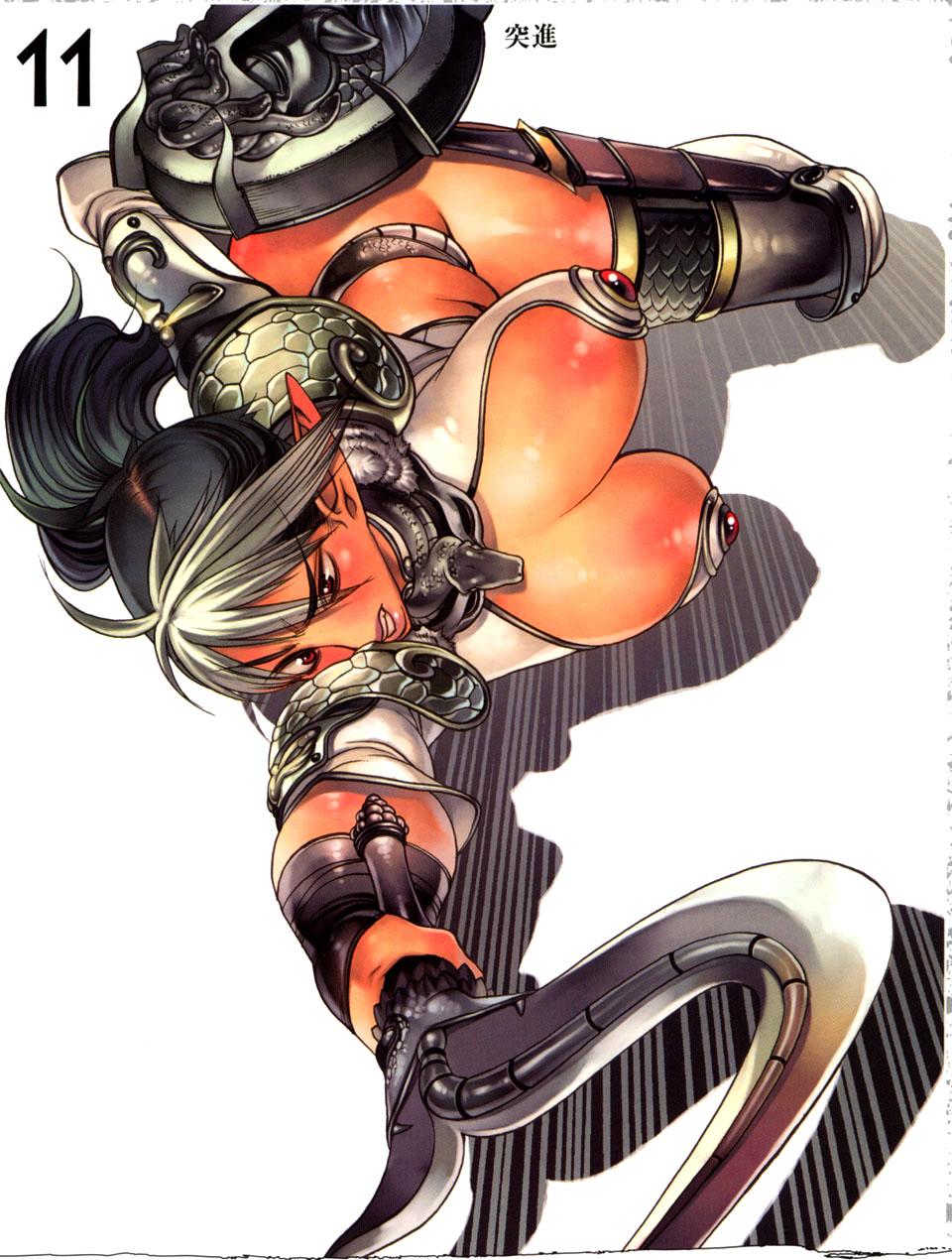 Image - Echidna 6.jpg   Queen's Blade Wiki   FANDOM ... Queens Blade Echidna Cosplay
