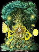 Holy Tree of Prayer transparent