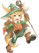 Ninya (The Forest Traveler) transparent