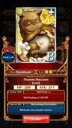 Thunder Raccoon (Lord) info