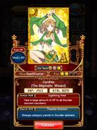 Cynthia (The Stigmatic Wizard) info