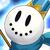 Snowman (Blue) Icon