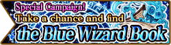 Blue Wizard Book Banner