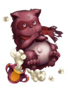 Fire Raccoon (Lord) transparent
