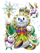 Roger (King of Snowfall) transparent