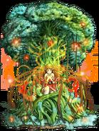Yugdracil (Tree of the Sun) transparent