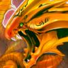 Fiery Dragon Icon