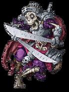 Skeleton Warrior (Flaming) transparent