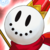 Snowman (Red) Icon