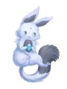 Frost Rabbit transparent