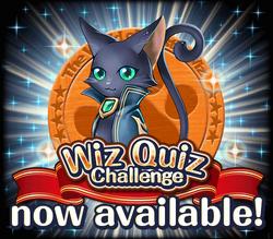 Wiz Quiz Challenge Now Available