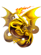 Red Dragon transparent