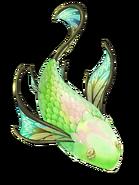 Emerald Fish transparent