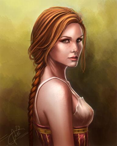 File:The red head by dream iris-d33yokd.jpg