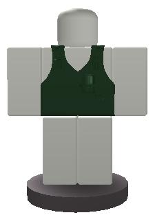 Military Vest ButtonAlt