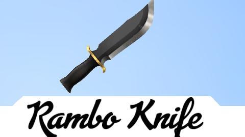 Rambo Knife vs Entire Server