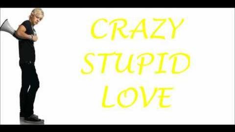 Crazy Stupid Love - Lyric Video