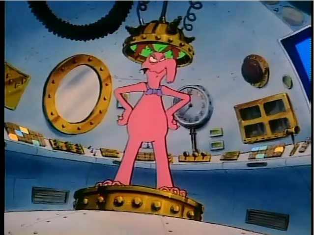 File:Cyril Sneer goes back in time.png