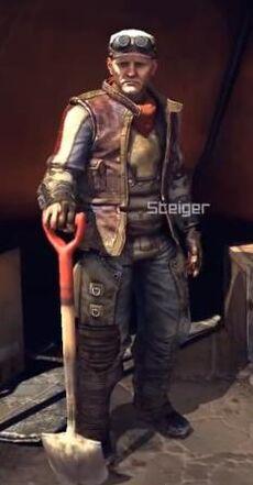 RAGE Steiger