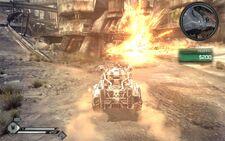 Rage Vehicle Combat lvl 4 Hellfire success