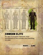 Crimson elite 1 chose