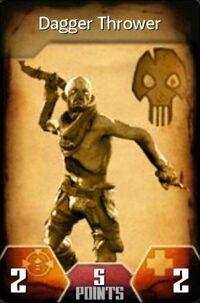 Dagger Thrower (Card)