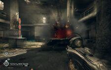 Rage Authority Prison jetpack explosion