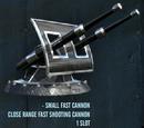 Small Fast Cannon