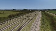 Hedborough North main sidings