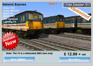 Gatwick Express header