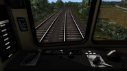 Class 107 cab view