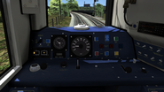 Class 158 cab view