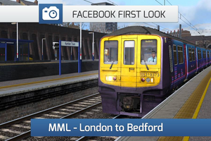 Midland Main Line London to Bedford Facebook First Look