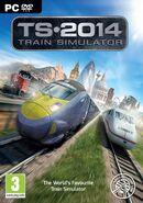 Train Simulator 2014 box art