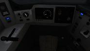 Class 166 cab controls