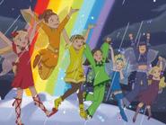 Ruby, Amber, Saffron, Fern, Sky, Izzy, Heather.