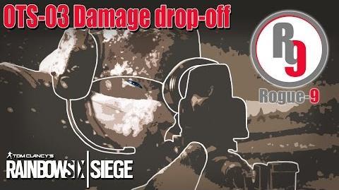 Glaz' OTS-03- Damage Test - Rainbow Six - Siege