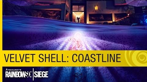 Tom Clancy's Rainbow Six Siege - Operation Velvet Shell Coastline Map Preview US