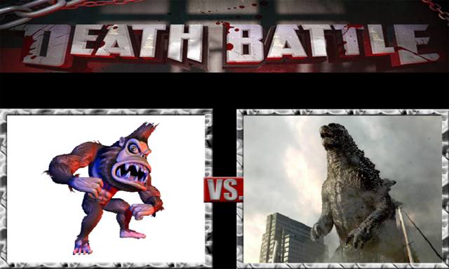 File:DEATH BATTLE Idea - George Vs. Godzilla.png
