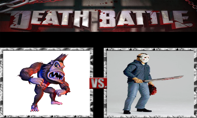 File:DEATH BATTLE Idea - George Vs. Jason.png