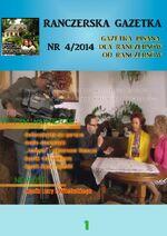 Ranczerska Gazetka 4 Okładka