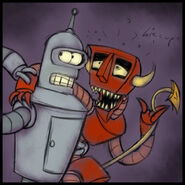 Bender n rd for dsummerchan by missuspatches
