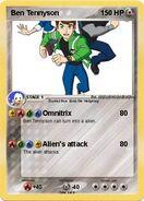Ben 10 Pokemon Card