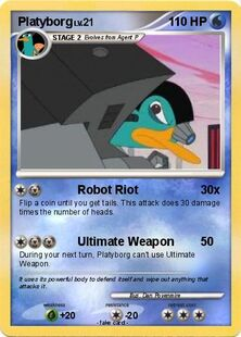 Platyborg Pokemon