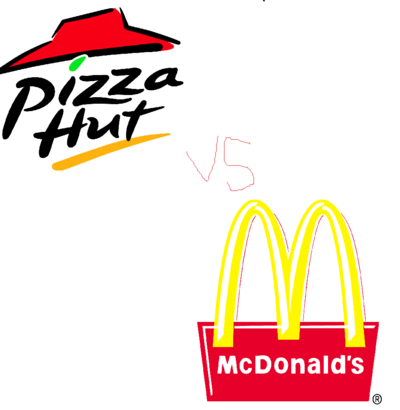 Pizza vs Mc